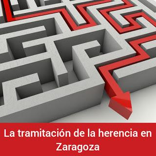 la tramitación de la herencia en Zaragoza